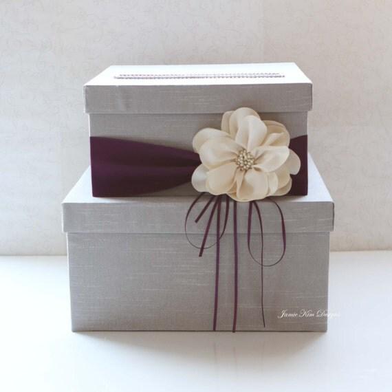 Wedding Gift Post Box: Wedding Card Box Wedding Money Box Gift Card Box Custom Made