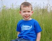 Awesome - Boy's Blue Shirt