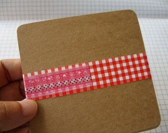 50 Square 3.50 x 3.50 inch or 9x9 cm. Kraft Paper Cards, Kraft Note Cards , Kraft Tags, Blank Cards