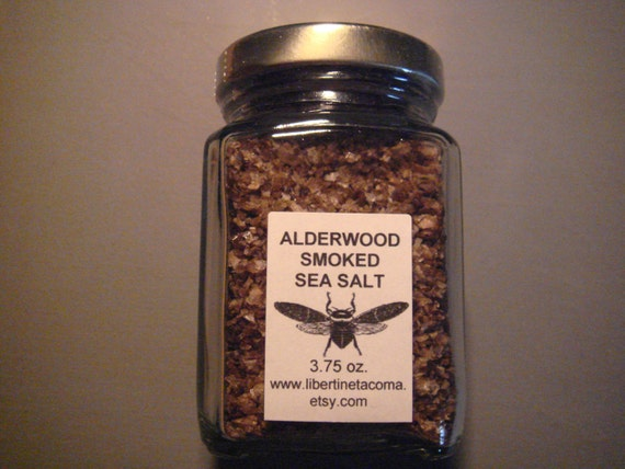 Alderwood Smoked Gourmet Culinary Sea Salt by LibertineTacoma