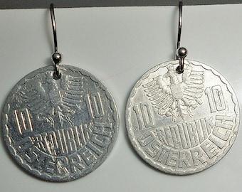 AustriaCoin Earrings 1965/1966
