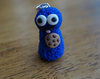 Cookie Monster Pawn Charm