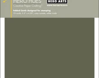 SALE Hero Arts Charcoal Notecards Folded Cards PS689