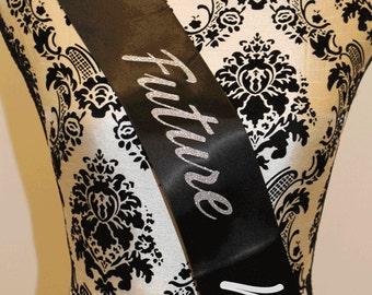 Future Mrs...Bride Bachelorette party sash - personalized