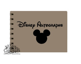 Disney Autographs - Vinyl Wall Art