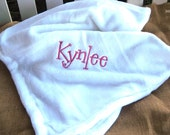 So Soft Bunny Tail Cuddle Blankets. . .for girls or  for boys- Personalized Free--