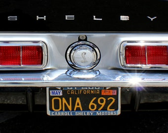 Ford Mustang Shelby Car Photography, Classic Car Photo, Vintage Car, Gift Idea Men, Vintage Mustang