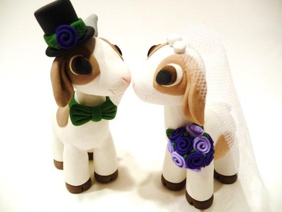 Goat Wedding Cake Topper