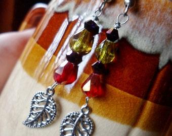 Vineyard Wine Earring Set