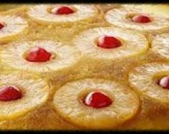 Pineapple Upside Down Cake Recipe~~~Instant Download
