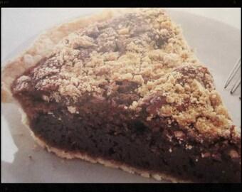 Amish Shoofly Pie Recipe- - -Instant Download