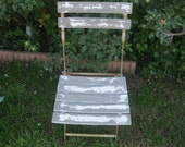 french wooden folding chair - SALE