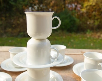 Arabia Finland Arctica, per cup and saucer, in mint condition