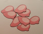 Minnie Mouse shoes die cuts