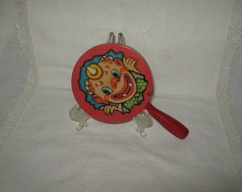 T. Cohn Clown Tin Noisemaker