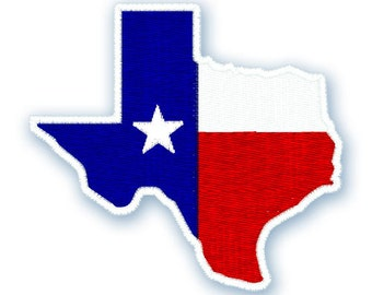 Instant Download - Texas 174 - Machine Embroidery design, Texas embroidery, texas state embroidery design, texas, flag