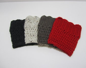 Boot Cuffs Boot Socks Boot Topper Leg Warmers Many Colors to Choose~SALE~