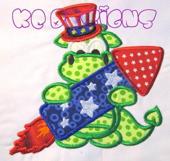 Dragon Applique Designs Applique Embroidery Design