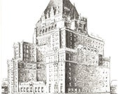 PICK UP Hotel Vancouver 2000 - Art Print