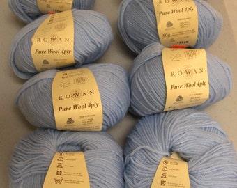 Rowan Pure Wool 4 Ply Chalk (7)