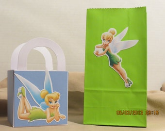 Tinker Bell Favor/Treat Bags (Set of 6)