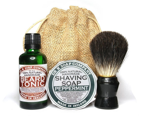 how to use beard brush and oil