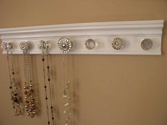 Necklace Organizer This Jewelry Hanger Has 7 Knobs By