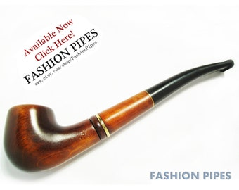Finnish Wood Pipe Tobacco Pipe/Pipes Smoking Pipe of Pear Carving Handmade, Exclusive Design, FINNISH PIPE . Best Price Offer.