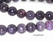 8mm Mauve Lepidolite Gemstone Grade AA Dark Purple Round 8mm Loose Beads 16inch Full Strand (90146598-161)