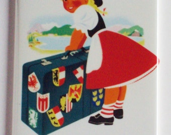 Travel Austria Fridge Magnet (2 x 3 inches)