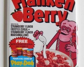 Frankenberry Cereal Box Fridge Magnet