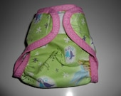 Sized Tinkerbell Diaper Cover