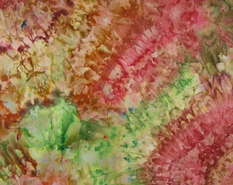 Ice Dyed Fabric, Cabbage Rose, Fat Quarter (MH) #25