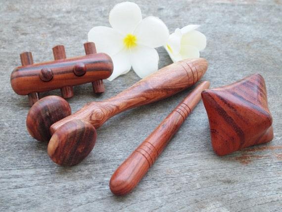 Thai Massage Wooden Hand Massage Tools