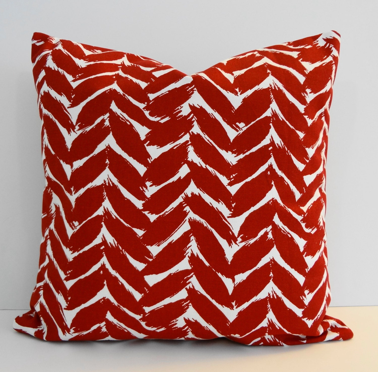 Fabric For Throw Pillow Covers : Designer Pillow Cover Covington Fabrics Crimson Throw Pillow
