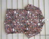 Vintage Zanella animal print button down shirt ala 1990s