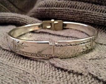Grenoble 1938 Silverware Bracelet