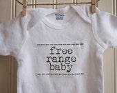 Free Range Baby Onesie