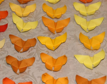 100 Origami Butterflies - Japanese paper