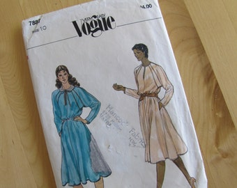 Vogue 7887 Sewing Pattern - Misses Dress - Size 10