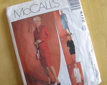 McCalls 4172 - Dress, Tunic and Skirt - Size 16-22