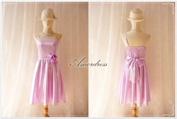 Items Similar To Elegant Prom Dress Light Lavender Purple