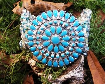 Athena Bauble Cuff Bracelet