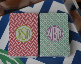 Personalized Playing Cards Deck - Can be Monogram Monogrammed