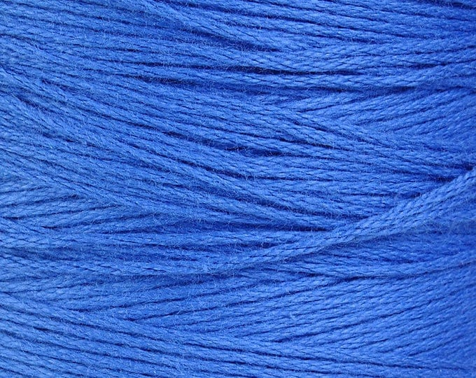 1mm Blue cotton cord - 1mm twisted thread (875) - Flat rate shipping