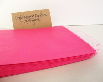 """50 Size 6-3/4 X 9-1/4""""  Gourmet Bags Glassine Lined Paper for decorate, stamp, gift bags, envelopes, party favors, and many more"""