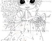 INSTANT DOWNLOAD Digital Digi Stamps Big Eye Big Head Dolls DigiBanana Pie Besite  IMG730 By Sherri Baldy