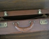 Vintage Leather Briefcase - Dopp Bilt