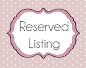 Reserved listing for zh1026