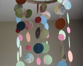 Colorful Paper Mobile - Eclectic Floral